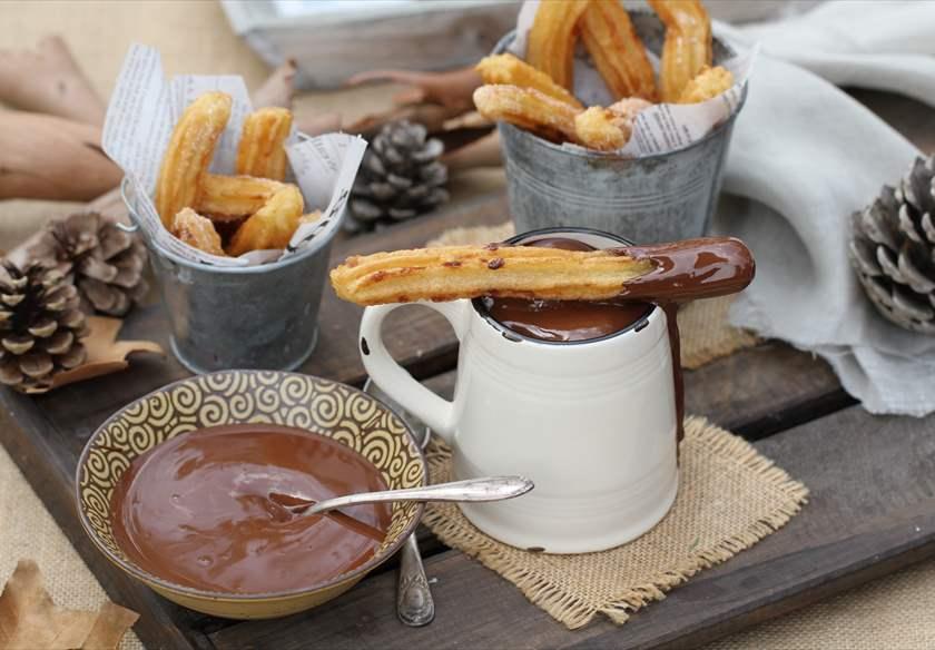 postres tradicionales con chocolate