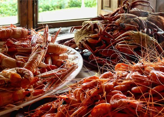 Feria gastronómica de productos gallegos