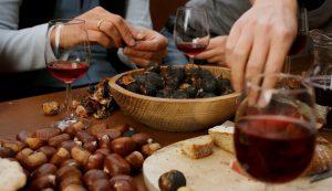 fiesta de la castaña y el vino