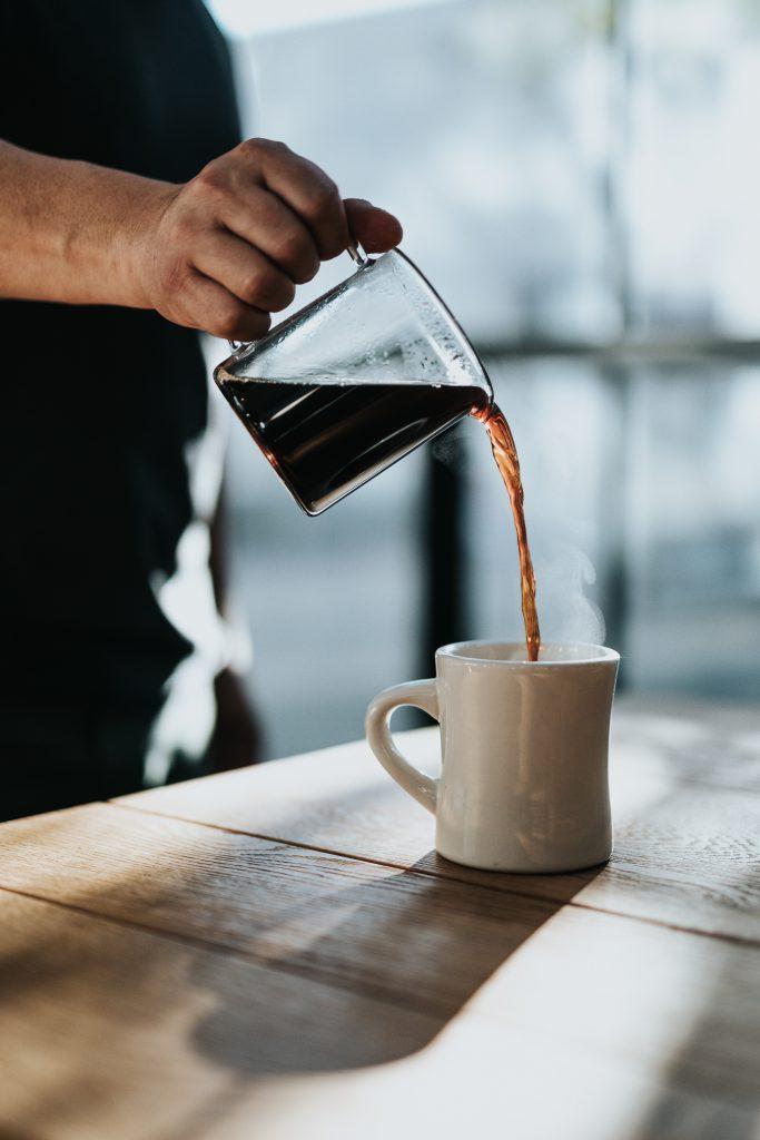 un buen café en casa